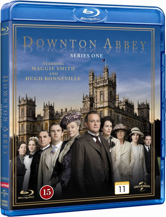 Downton Abbey - Sæson 1 - Blu-Ray - Tv-serie