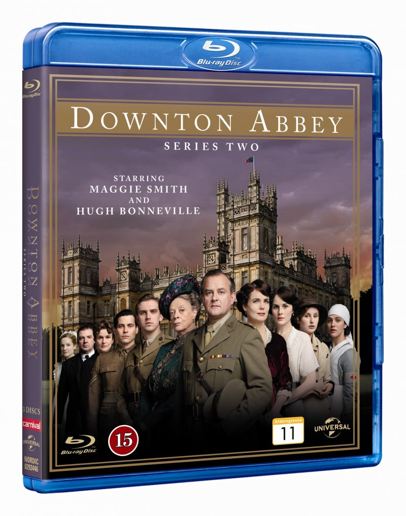 Downton Abbey - Sæson 2 - Blu-Ray - Tv-serie