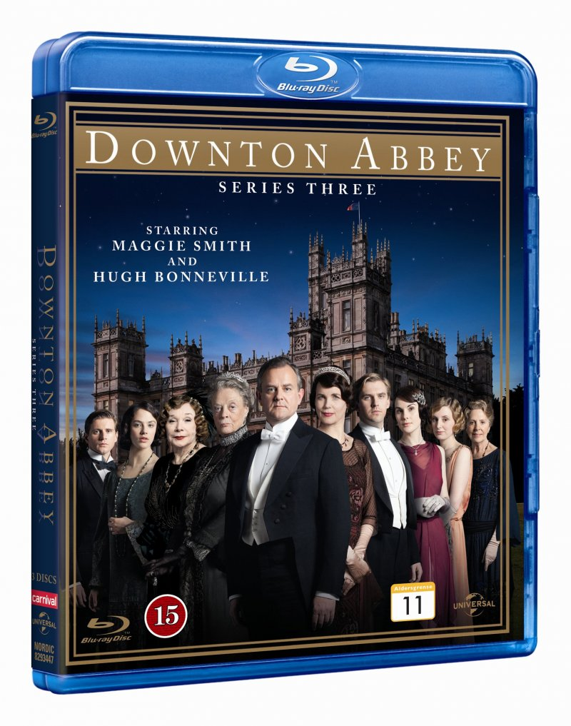 Image of   Downton Abbey - Sæson 3 - Blu-Ray - Tv-serie