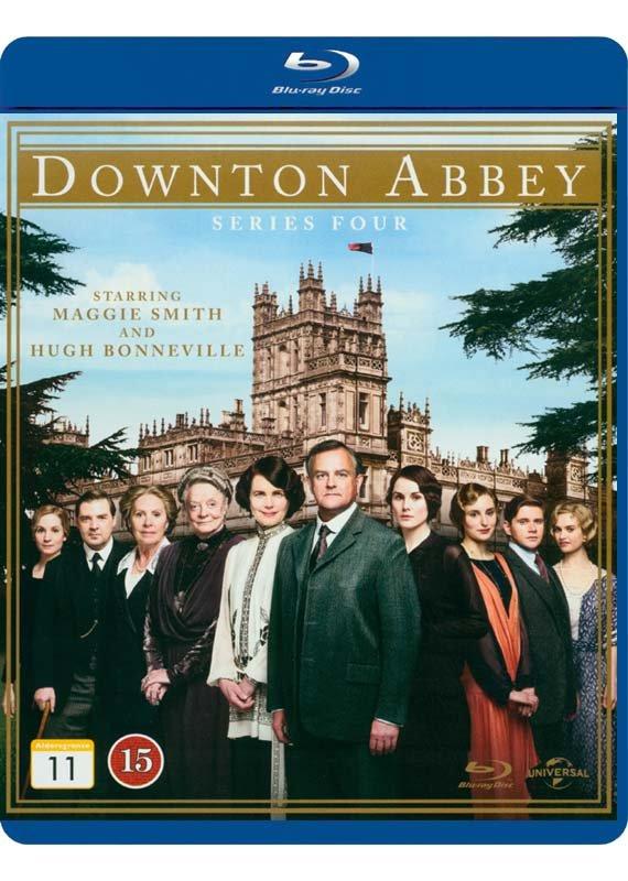 Downton Abbey - Sæson 4 - Blu-Ray - Tv-serie