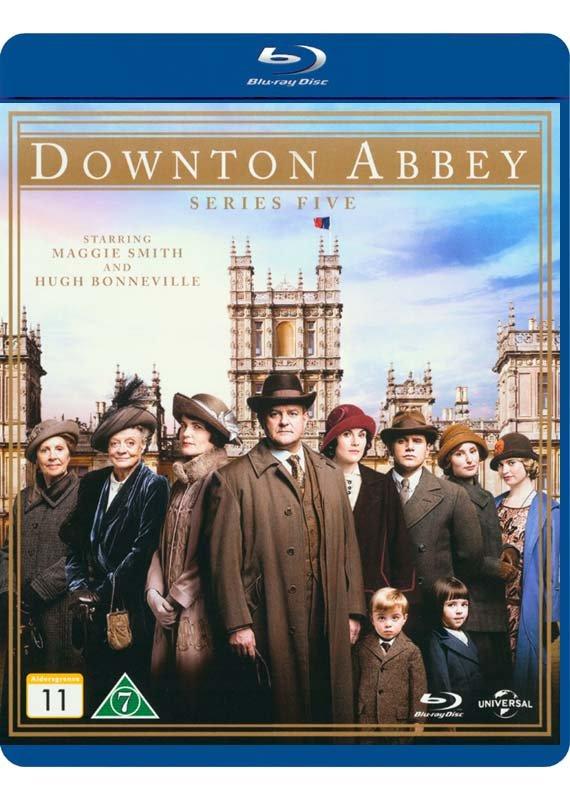 Downton Abbey - Sæson 5 - Blu-Ray - Tv-serie