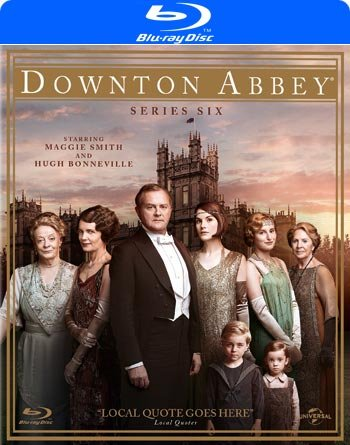 Image of   Downton Abbey - Sæson 6 - Blu-Ray - Tv-serie