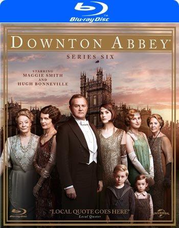 Downton Abbey - Sæson 6 - Blu-Ray - Tv-serie