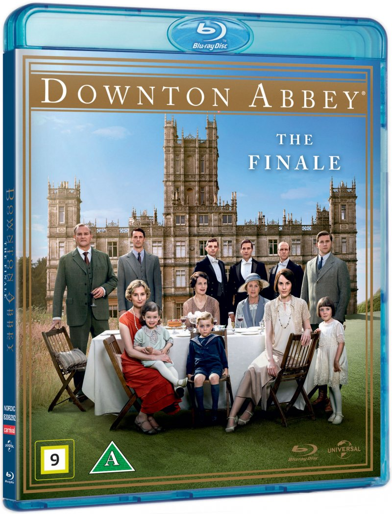 Image of   Downton Abbey - 2015 Christmas Special / The Finale - Blu-Ray - Tv-serie