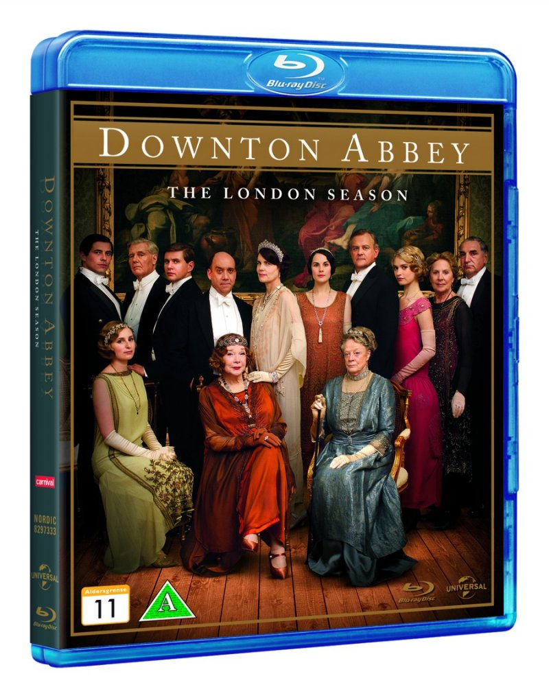 Image of   Downton Abbey: London Sæson - Blu-Ray - Tv-serie