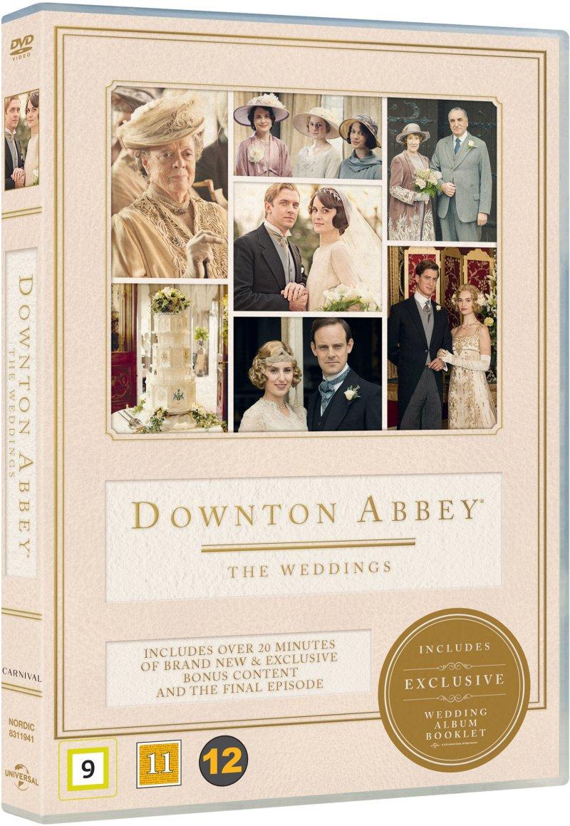 Billede af Downton Abbey - The Weddings - DVD - Tv-serie