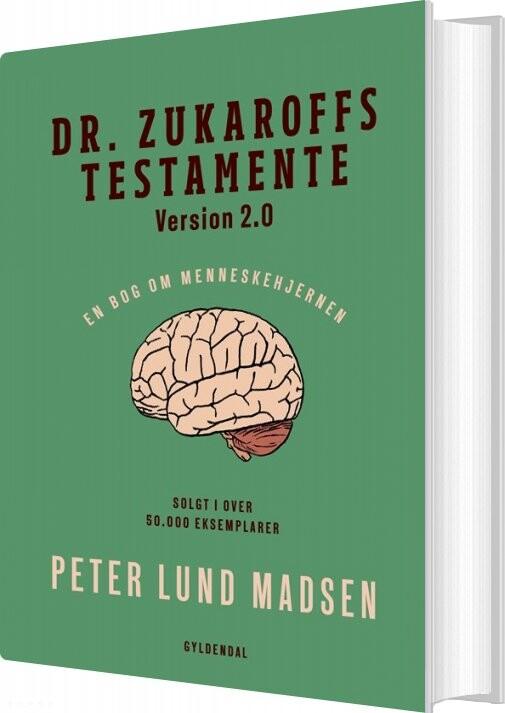Image of   Dr. Zukaroffs Testamente 2 - Peter Lund Madsen - Bog