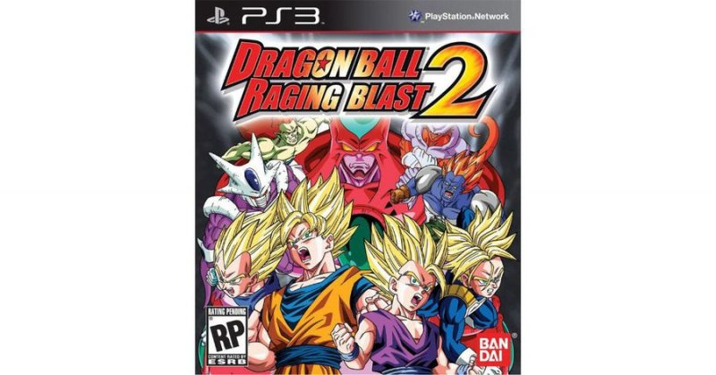 Dragon Ball: Raging Blast 2 (import) - PS3
