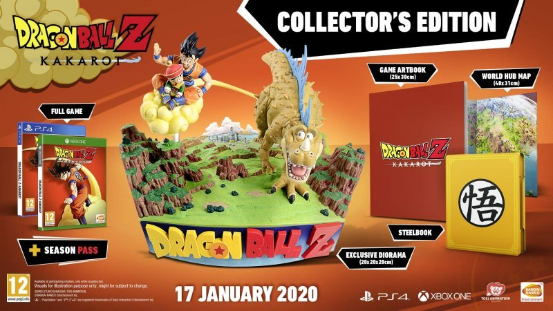 Image of   Dragon Ball Z: Kakarot - Collectors Edition - PS4
