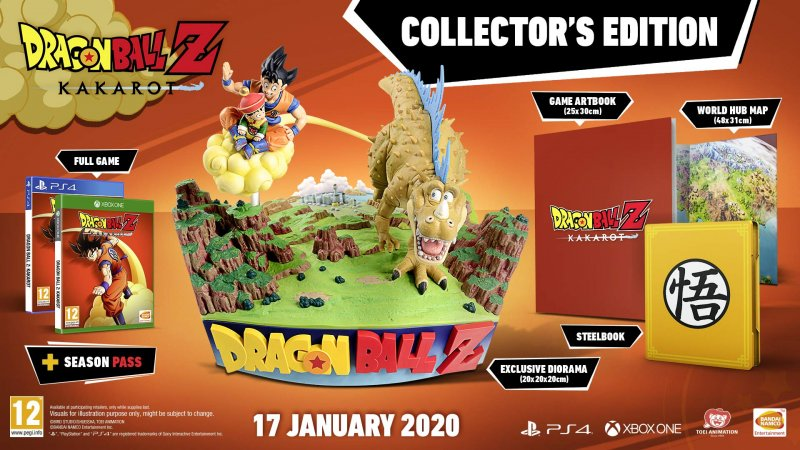 Image of   Dragon Ball Z: Kakarot - Collector's Edition - Xbox One