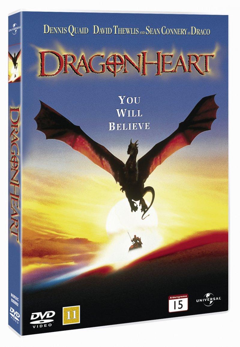 Billede af Dragonheart - DVD - Film