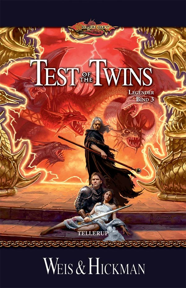 Dragonlance Legender #3: Test Of The Twins - Margaret Weis - Bog