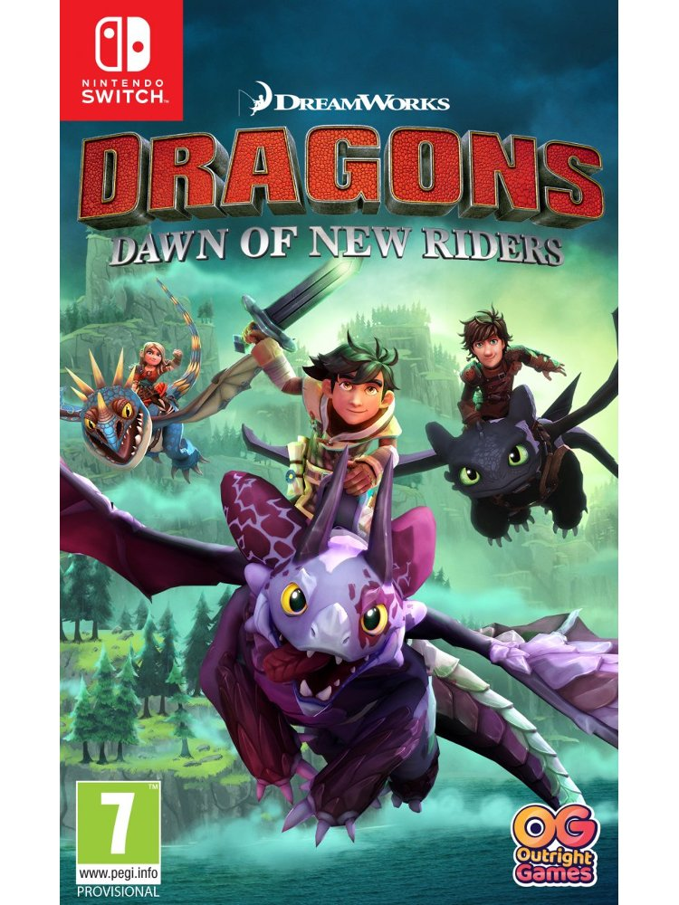 Image of   Dragons Dawn Of New Riders - Nintendo Switch