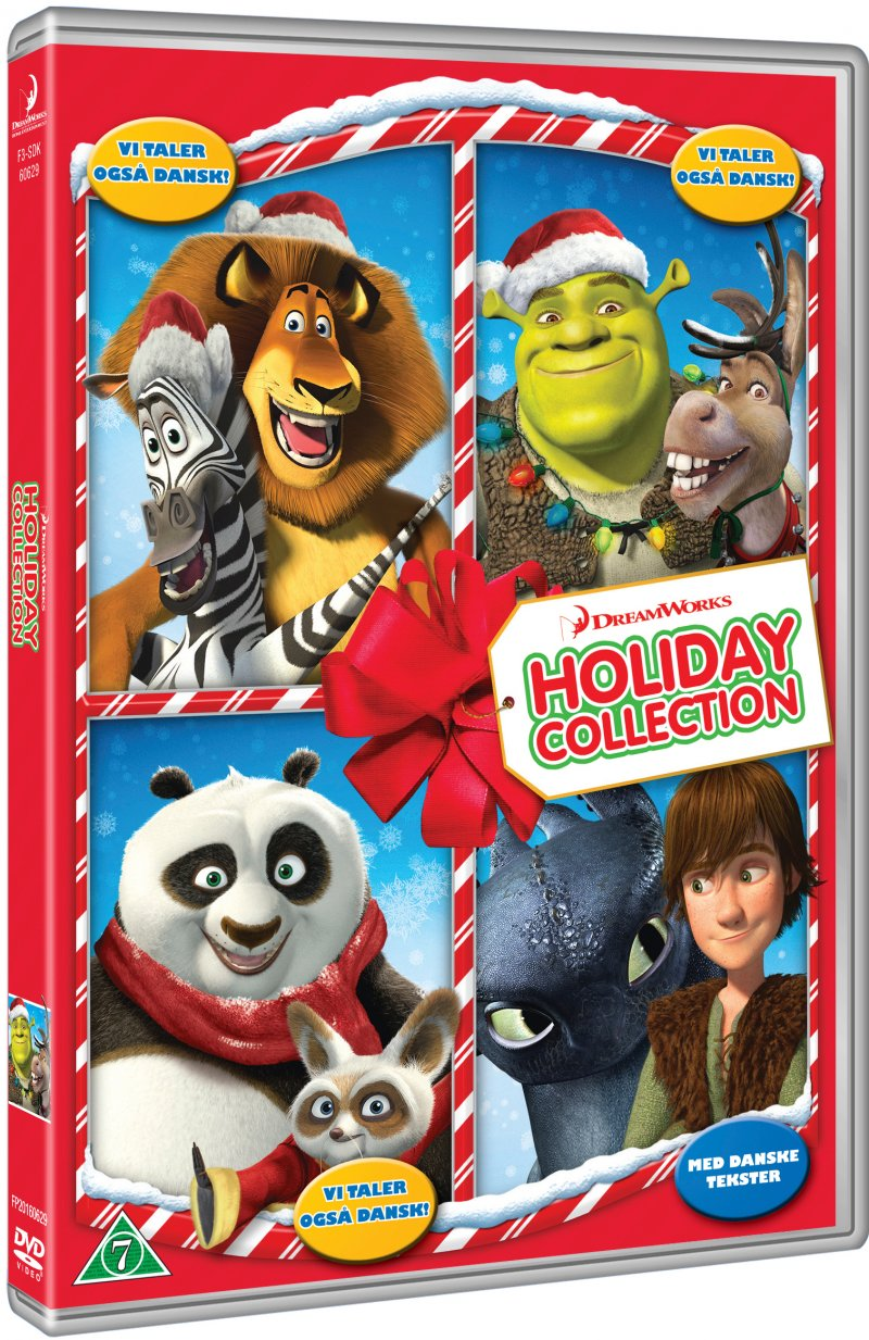 Image of   Dreamworks Holiday Collection - DVD - Film