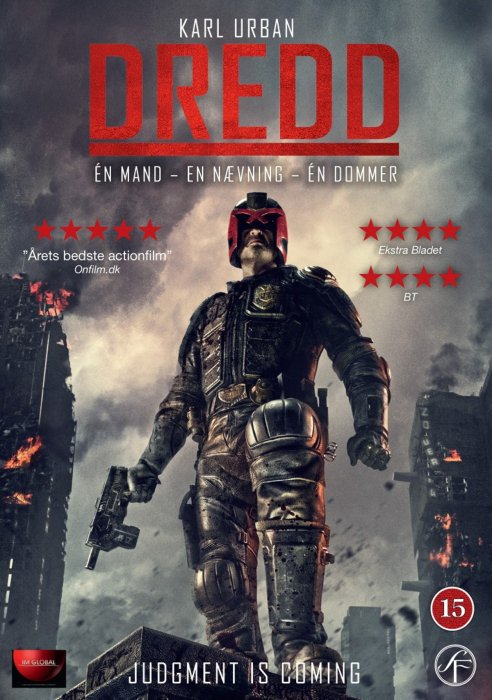 Image of   Dredd - DVD - Film