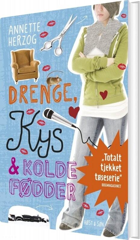 Billede af Drenge, Kys Og Kolde Fødder. Drenge & ... 3 - Annette Herzog - Bog