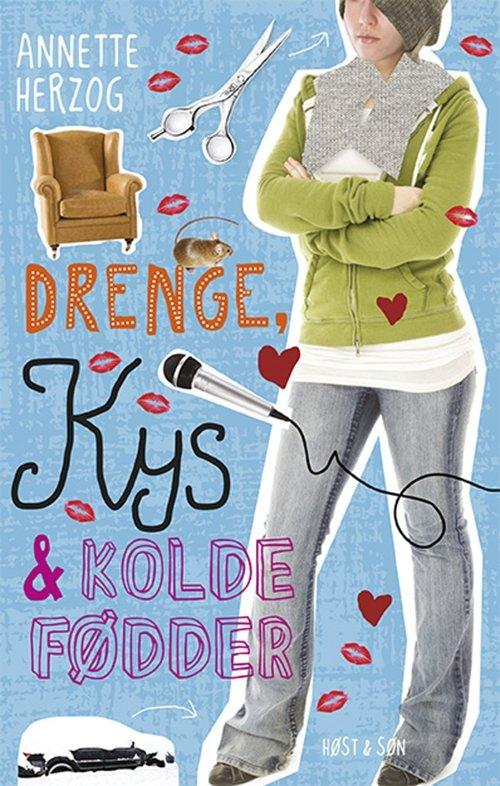 Billede af Drenge, Kys Og Kolde Fødder - Annette Herzog - Bog