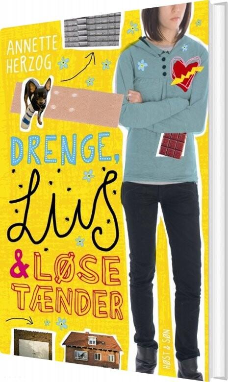 Billede af Drenge, Lus Og Løse Tænder. Drenge & ... 1 - Annette Herzog - Bog