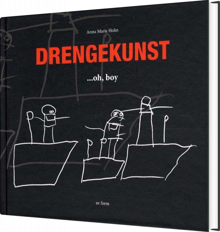 Billede af Drengekunst - Anna Marie Holm - Bog