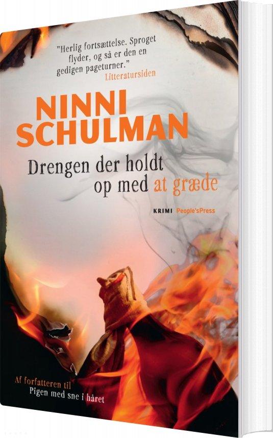 Image of   Drengen Der Holdt Op Med At Græde - Ninni Schulman - Bog