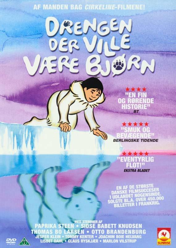 Image of   Drengen Der Ville Gøre Det Umulige / Drengen Der Ville Være Bjørn - DVD - Film