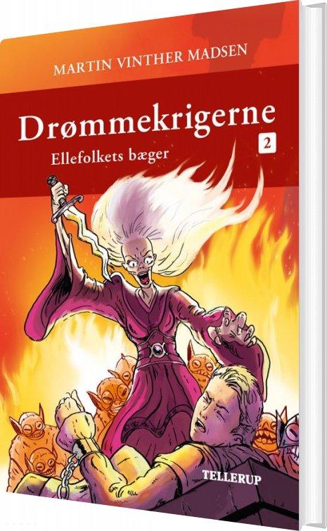 Image of   Drømmekrigerne #2: Ellefolkets Bæger - Martin Vinther Madsen - Bog