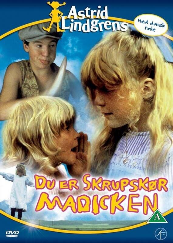 Image of   Du Er Skrupskør Madicken - DVD - Film