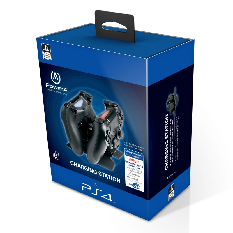Image of   Dualshock Ladestation Dock Inkl. Ps4 Usb 2.0 Kabel