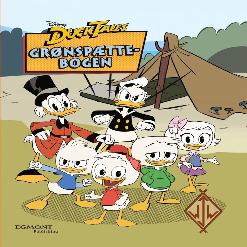 Image of   Grønspættebogen - Disney Ducktales - Tegneserie