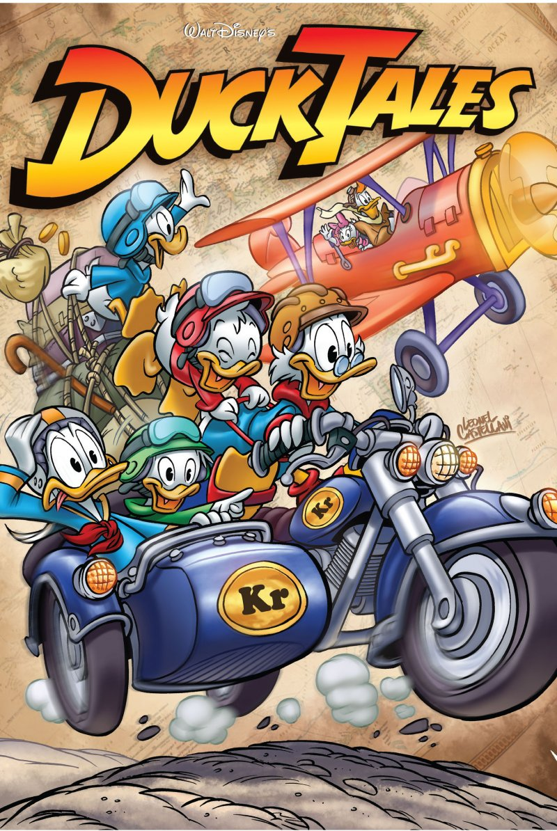Image of   Ducktales - Disney - Tegneserie