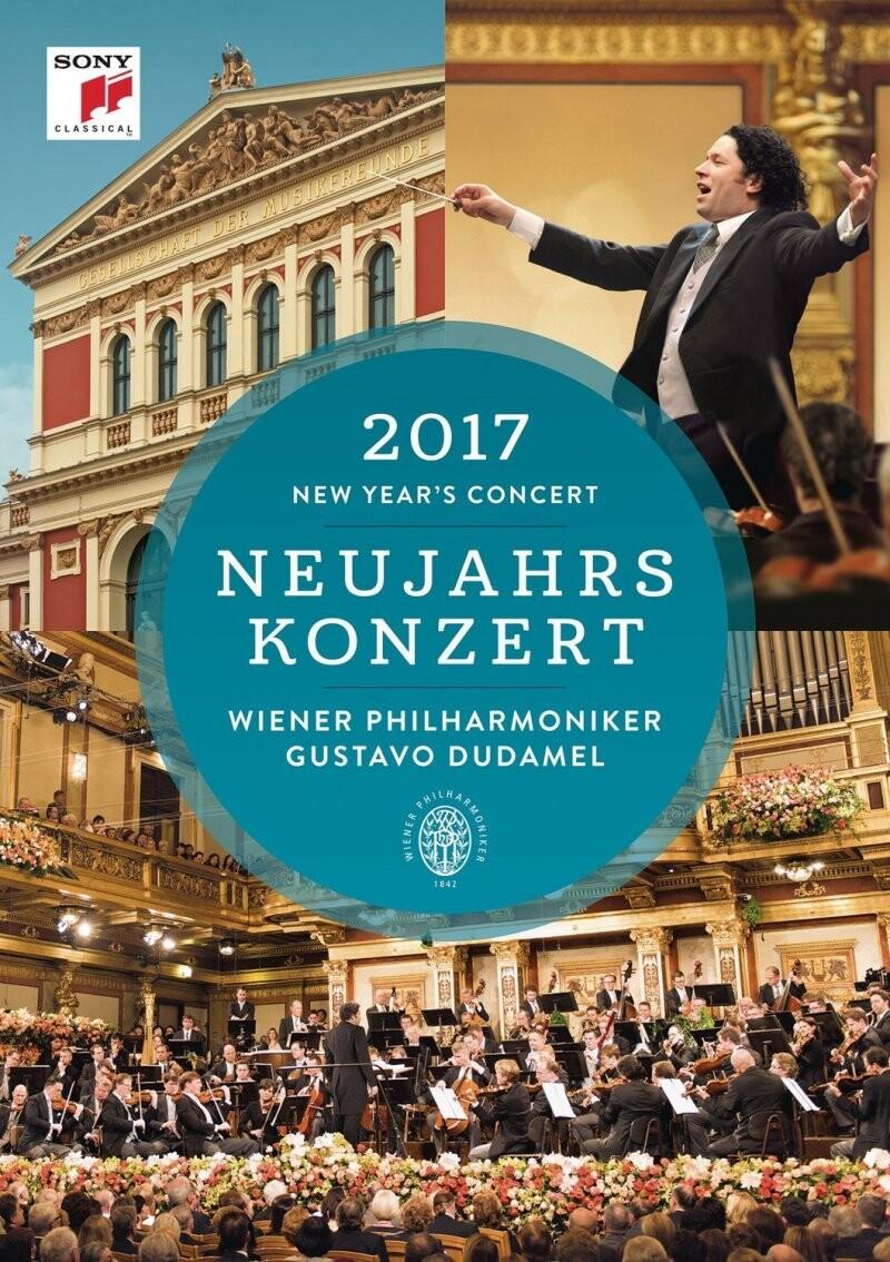 Image of   Dudamel Gustavo & Wiener Philharmoniker: Neujahrskonzert 2017 / New Years Concert 2017 - DVD - Film