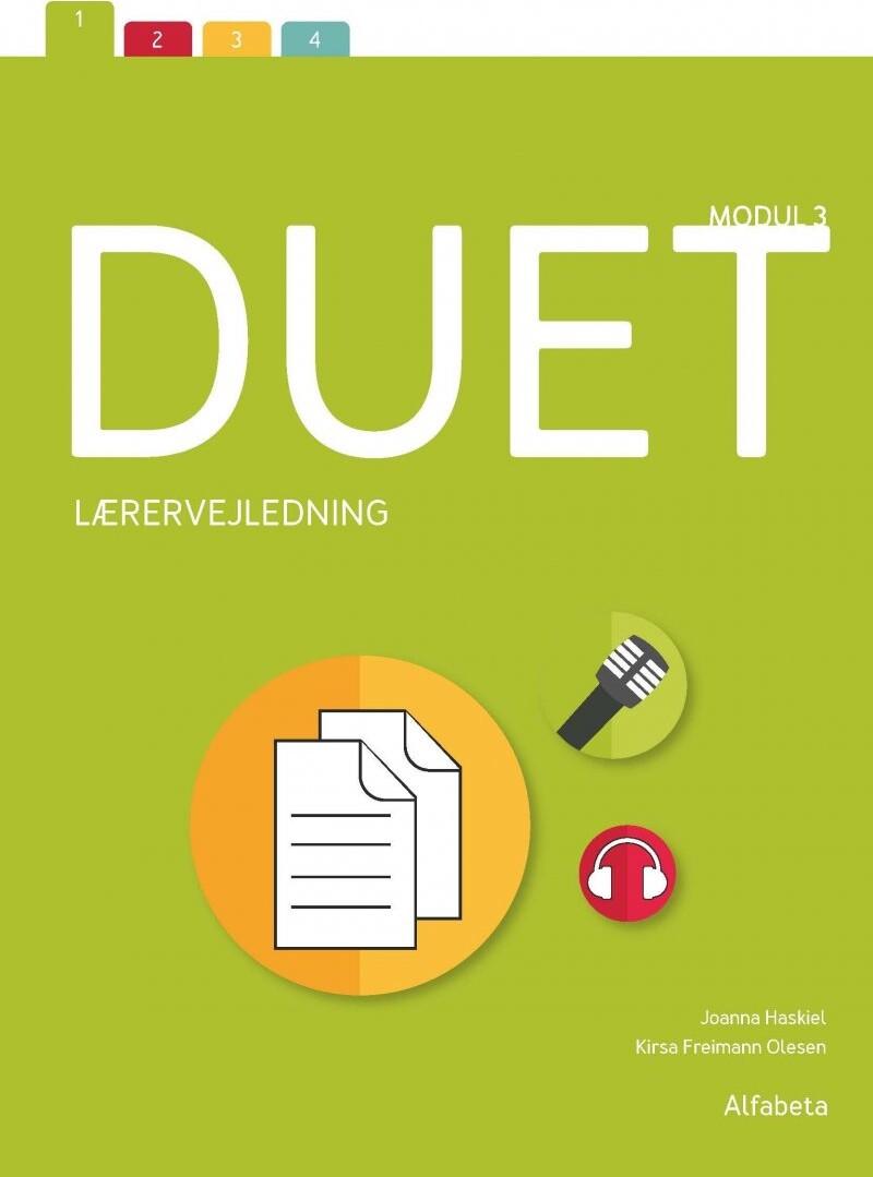 Image of   Duet 3, Lærervejledning - Joanna Haskiel - Bog