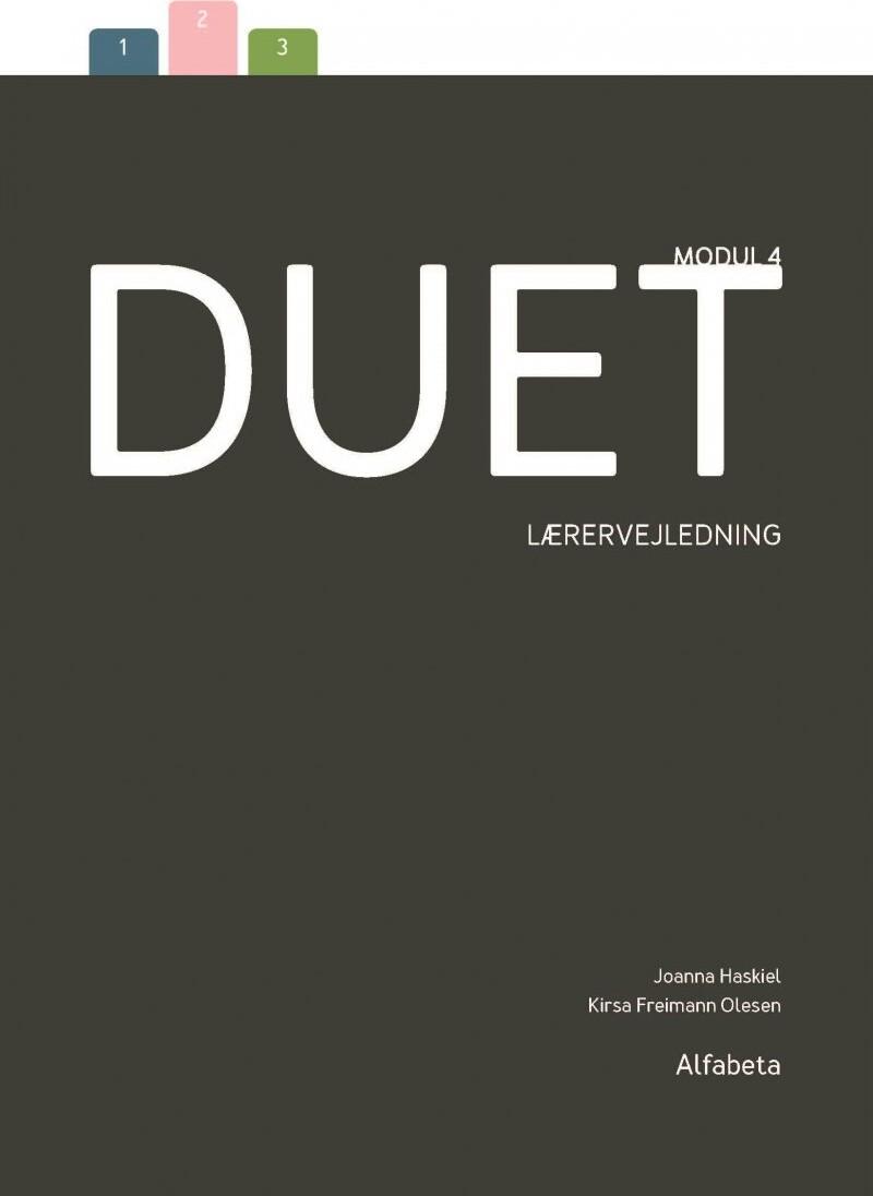 Image of   Duet 4 - Lærervejledning - Kirsa Freimann Olesen - Bog