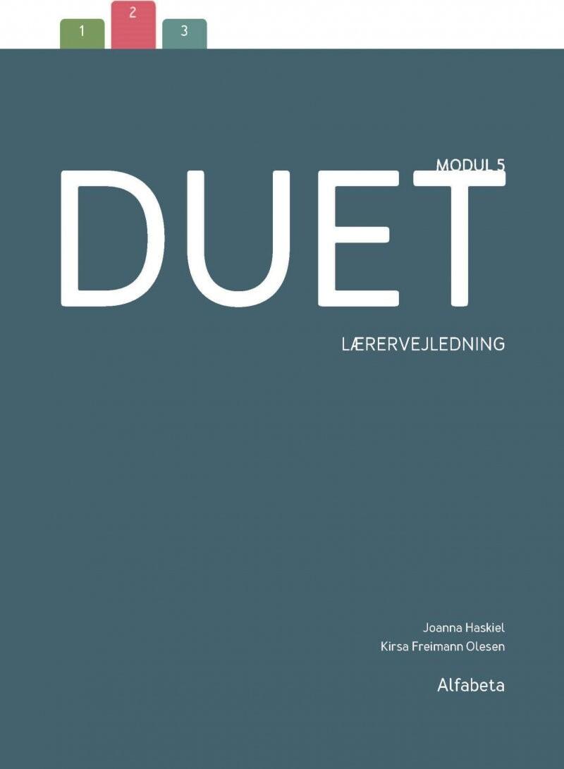 Image of   Duet 5, Lærervejledning - Kirsa Freimann Olesen - Bog