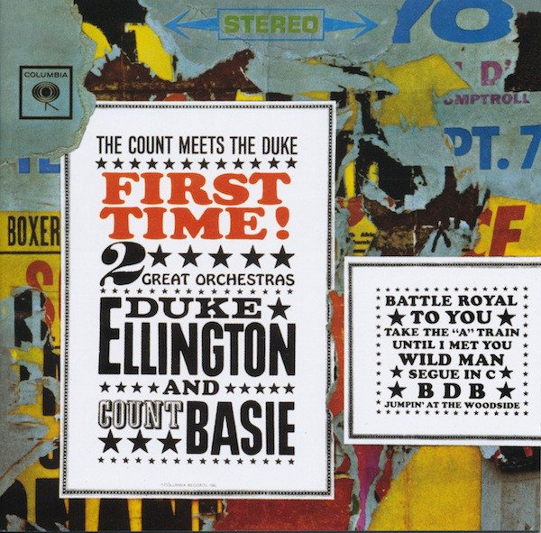 Image of   Duke Ellington - The Count Meets The Duke - First Time! 2 Great Orchestras - CD