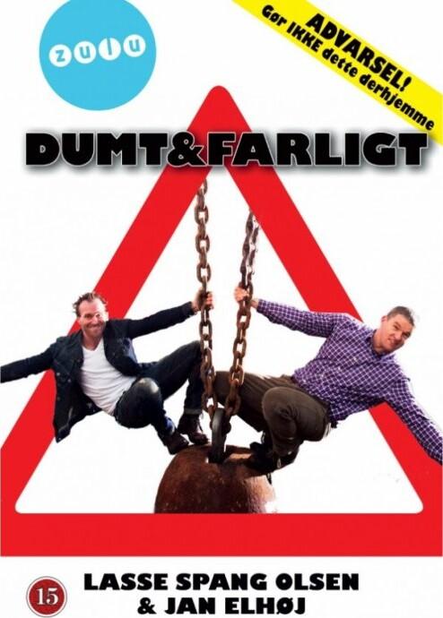 Image of   Dumt Og Farligt - Sæson 1 - DVD - Tv-serie