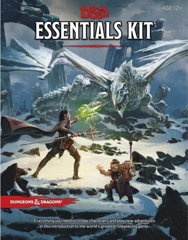 Dungeons And Dragons 5 - D&d - Essentials Kit - Brætspil På Engelsk