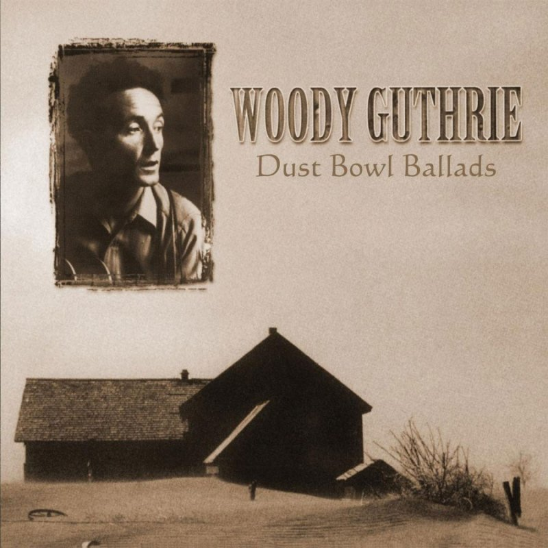 Woody Guthrie - Dust Bowl Ballads - Vinyl / LP