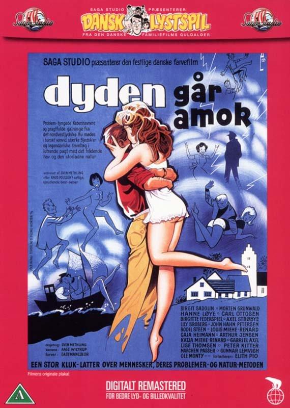 Image of   Dyden Går Amok - DVD - Film