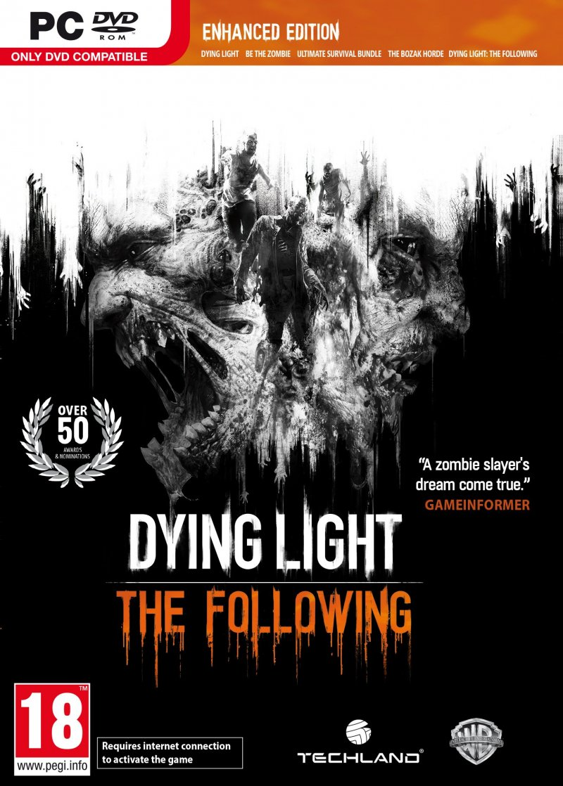 Image of   Dying Light: The Following - Enhanced Edition - PC