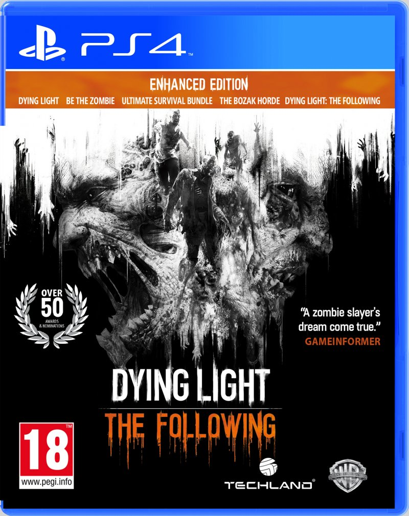 Image of   Dying Light: The Following - Enhanced Edition - PS4