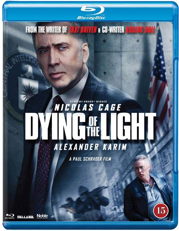 Image of   Dying Of The Light - Blu-Ray