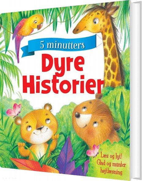 Image of   Dyrehistorier - 5 Minutters - Diverse - Bog