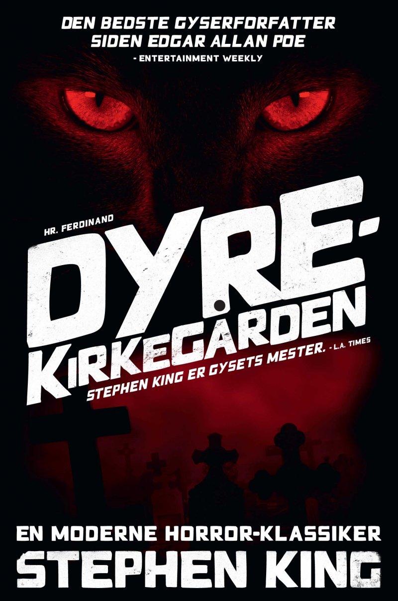 Image of   Dyrekirkegården - Stephen King - Bog