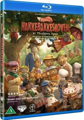Image of   Dyrene I Hakkebakkeskoven - Blu-Ray