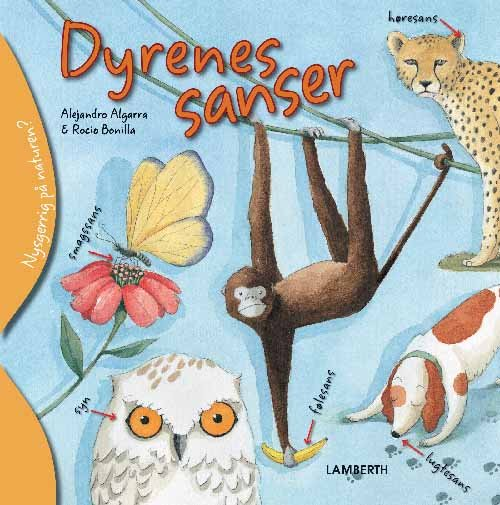 Image of   Dyrenes Sanser - Alejandro Algarra - Bog