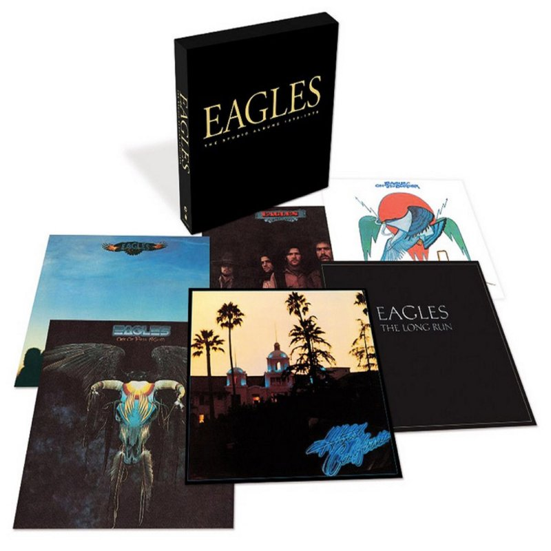 The Eagles - The Studio Albums 1972-1979 - CD