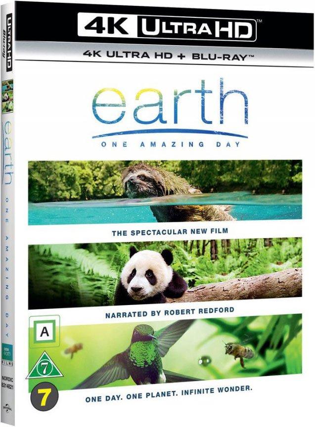 Earth: One Amazing Day - Bbc - 4K Blu-Ray