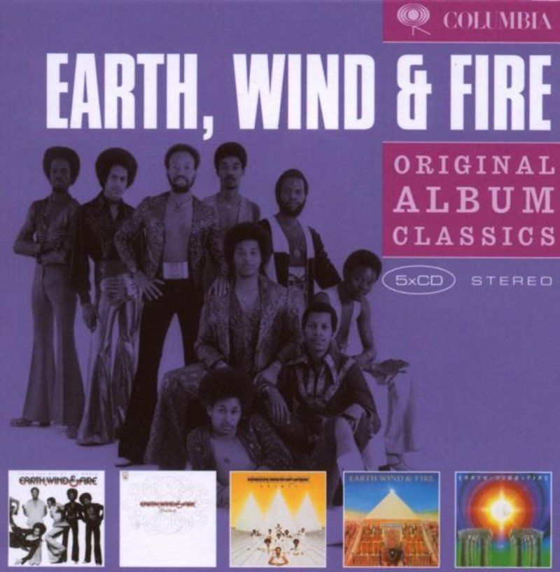 Image of   Earth Wind & Fire - Original Album Classics - CD