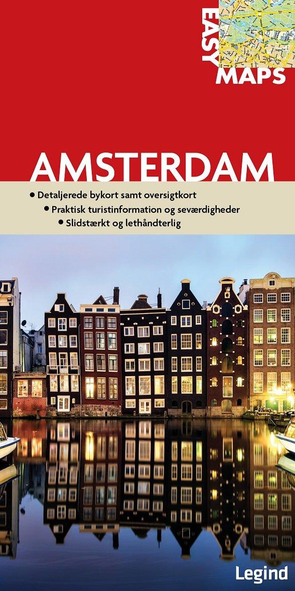 Image of   Easy Maps - Amsterdam - Legind A - Bog